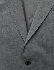 J. Lindeberg - Hopper U Comfort Wool Blazer - single breasted blazers - stone grey - 3