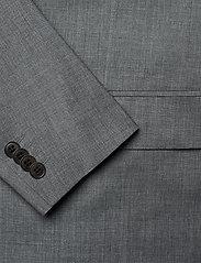 J. Lindeberg - Hopper U Comfort Wool Blazer - single breasted blazers - stone grey - 4