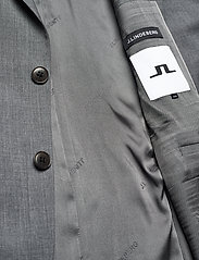 J. Lindeberg - Hopper U Comfort Wool Blazer - single breasted blazers - stone grey - 6