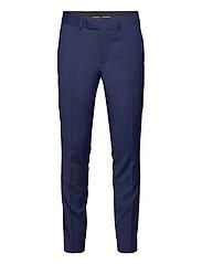 Grant Comfort Wool Pants - MIDNIGHT BLUE