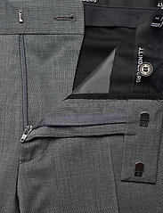 J. Lindeberg - Grant Comfort Wool Pants - anzugshosen - stone grey - 4