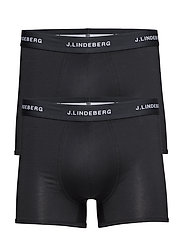 Mens Trunk 2-pack underwear - BLACK