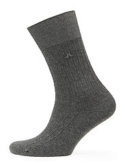 Mens Sock Rib Knit - GREY MELANGE