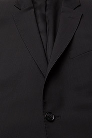 J. Lindeberg - Hopper Soft Comfort Wool - costumes simple boutonnage - black - 2