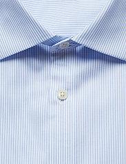 J. Lindeberg - Daniel CA TL Non-iron Twill - chemises basiques - ice flow - 2