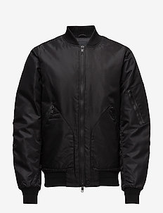 Hill 76 Muted Nylon - bomber jakke - black