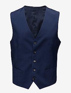 Justin Comfort Wool - gilet - mid blue