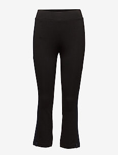 W Eya Pant Luxury Track - trousers - black