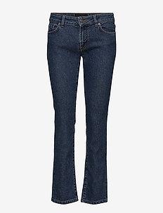 Lowe Port - slim jeans - mid blue