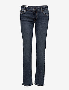 Lowe Bowl - straight jeans - mid blue