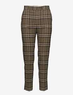 Mandalay Soft Check - bukser med lige ben - burro