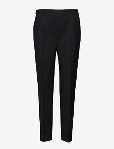 Kara Wool Cordura - bukser med lige ben - black