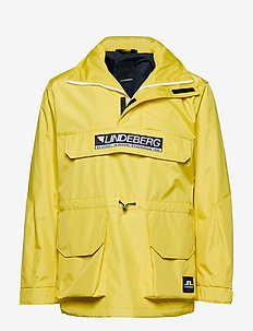 Hook Coated Canvas - anoraks - butter yellow