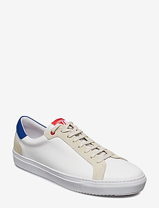 Sneaker Mix Calf - baskets basses - work blue