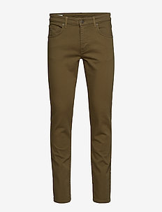 Jay Solid Stretch - IVY GREEN
