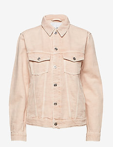 Ran Crls - denim jackets - summer beige