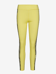 W ELAINA COMPRESSION POLY - running & training tights - butter yellow