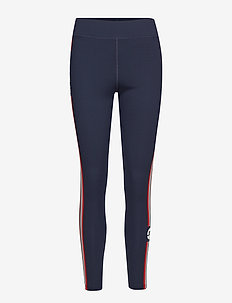 W ELAINA COMPRESSION POLY - running & training tights - jl navy