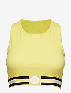 W ALEXIS COMPRESSION POLY - sport bras: medium - butter yellow