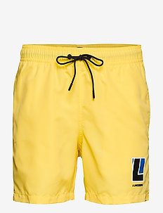 Banks Solid Swim - BUTTER YELLOW
