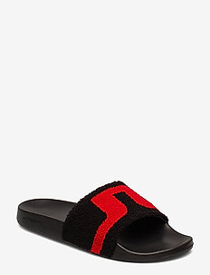 Enrico Slipper Sport Terry - BLACK