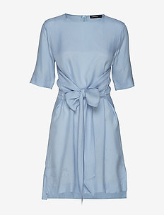 Embla Sheer Crepe - short dresses - ice flow