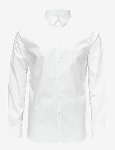 Daniel CBU Clean Poplin - basic skjortor - white