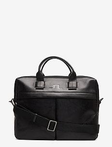 S-LAPTOP BAG 50105 Cow Leather - BLACK
