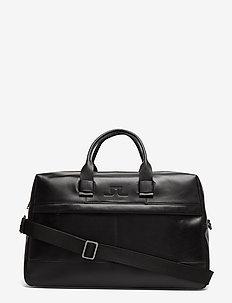 S-WEEKENDBAG 50104 Cow Leather - BLACK