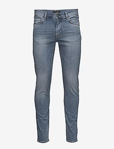 Damien Haggard - slim jeans - mid blue