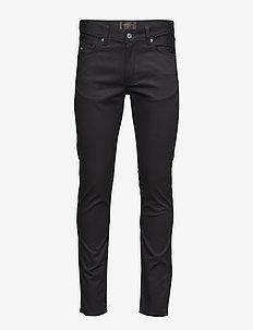 Damien Black Stretch Denim - skinny jeans - black