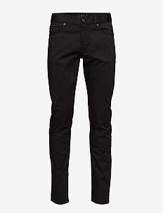 Jay Satin Jeans - BLACK