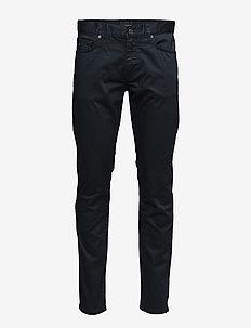 Jay Satin Jeans - slim jeans - navy