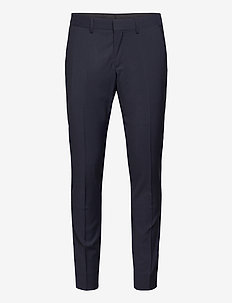 Paulie Tux Comfort Wool BL - suit trousers - navy