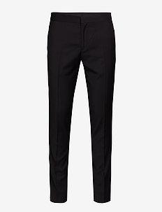 Paulie Tux Comfort Wool - pantalons habillés - black