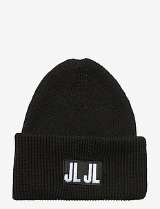 Jive Beanie-Spongy Wool - BLACK