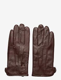 Bono-Leather Glove - DARK MOCCA