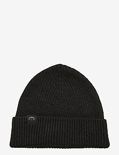 Juan Beanie-Winter Knit - BLACK