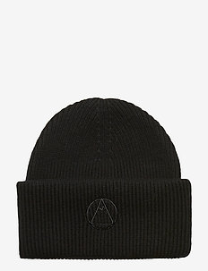 Monti Beanie-Wool Cashmere mix - BLACK