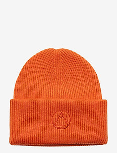Monti Beanie-Wool Cashmere mix - JUICY ORANGE