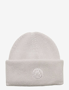 Monti Beanie-Wool Cashmere mix - OXFORD TAN
