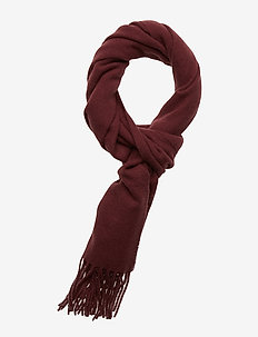 Champ Solid Scarf-Original Woo - DARK MOCCA