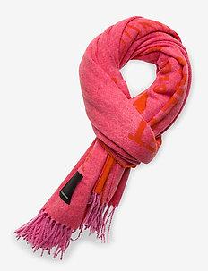 Frame Logo Scarf-Jacquard Wool - sjaals - hubba bubba