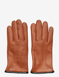 Bono-Leather Glove - TOBACCO BROWN