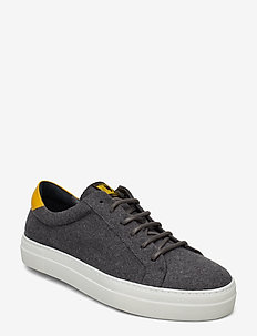 LT Sneaker-Flannel Wool - baskets basses - grey melange