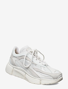 Sane Runner-Mixed fabric - baskets basses - white
