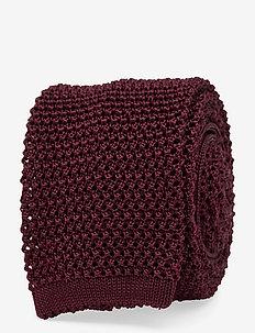 Lalle-Knitted Silk - DARK MOCCA