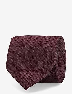 Lalle-Textured Silk - DARK MOCCA