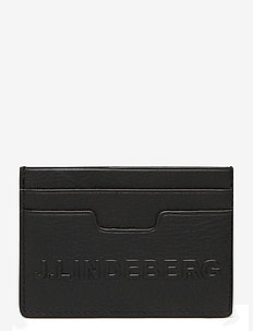 Roger Cardholder-ES Leather - titulaire de la carte - black