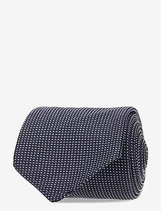 Lalle Micro Dot Tie - slips - jl navy